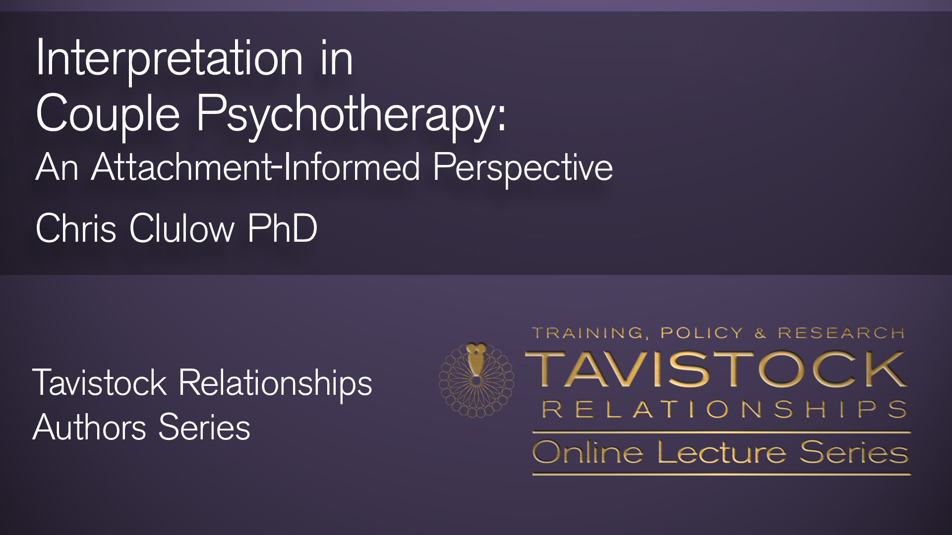 Interpretation in Psychotherapy Video