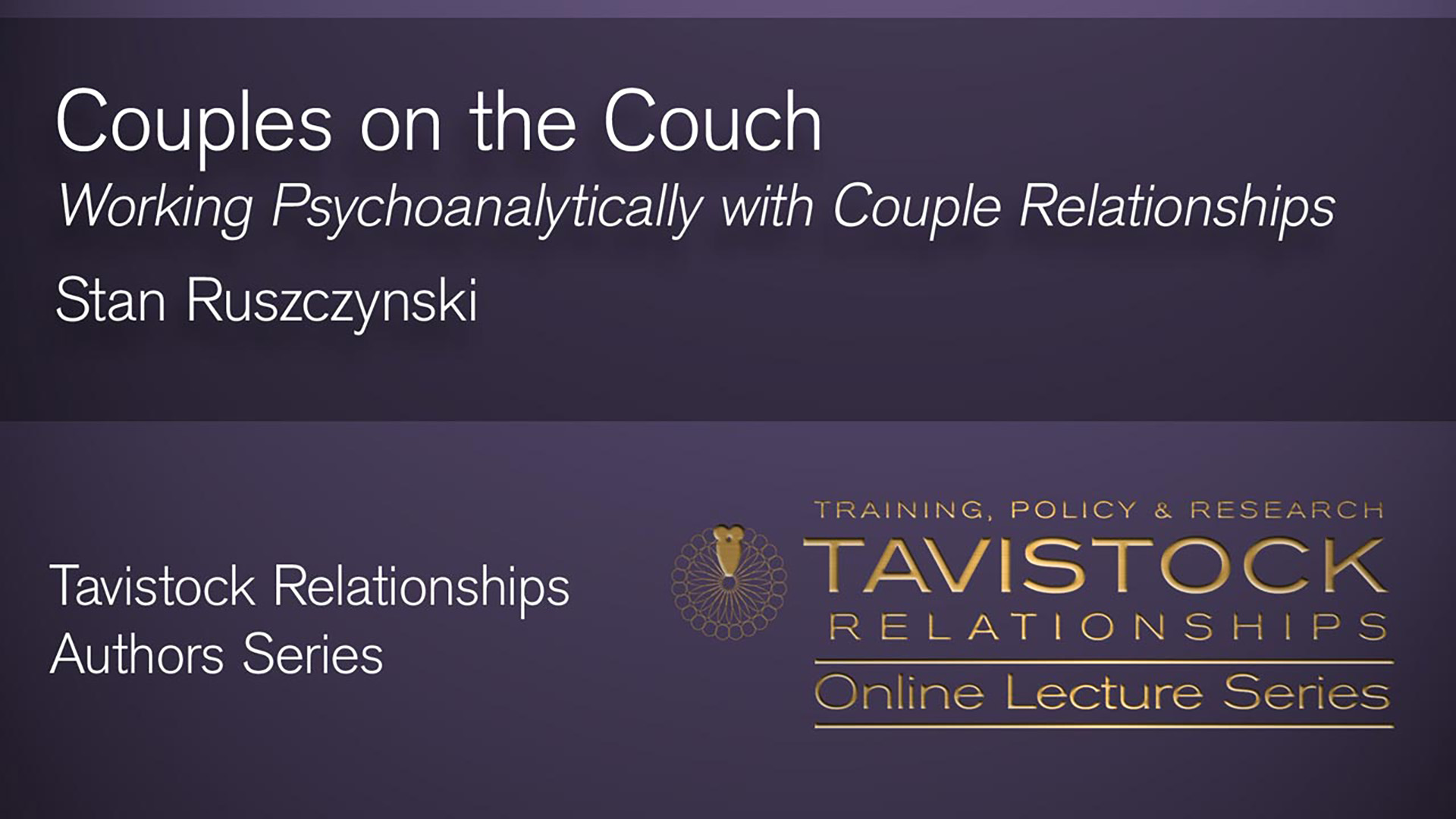 Couples on the Couch Video